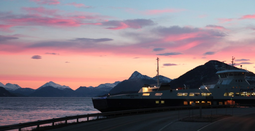 Mit der Fähre Richtung Ålesund