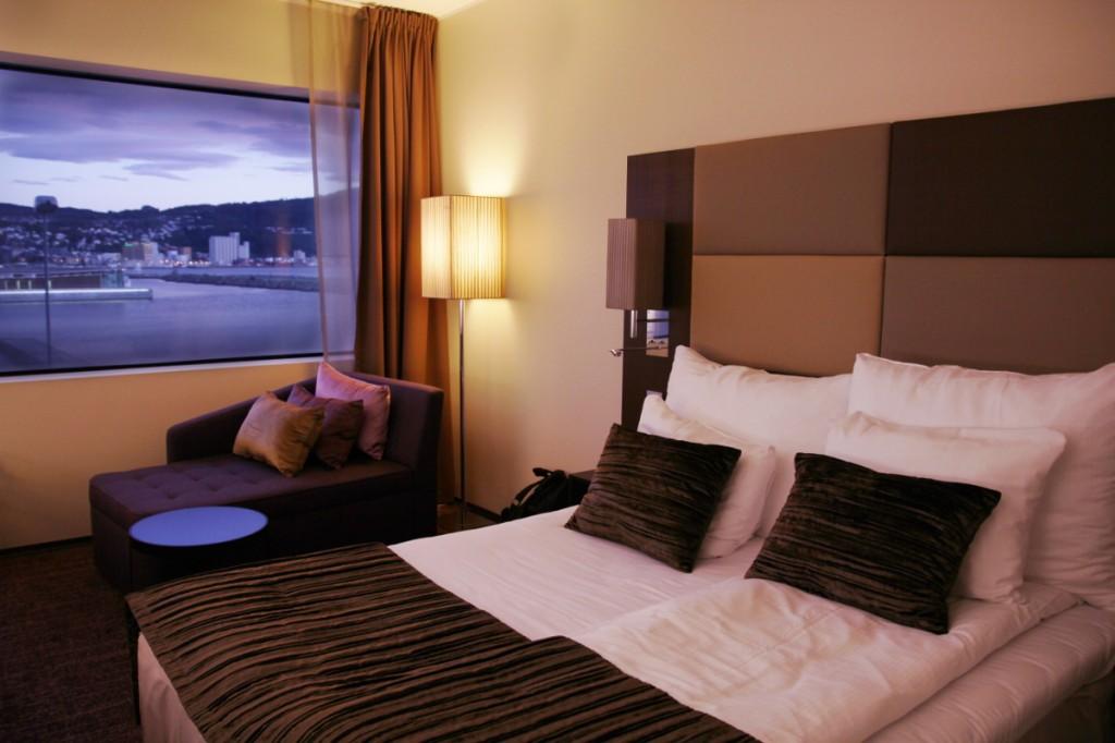 Hotelzimmer mit spektakulärer Aussicht: Clarion Hotel & Congress Trondheim