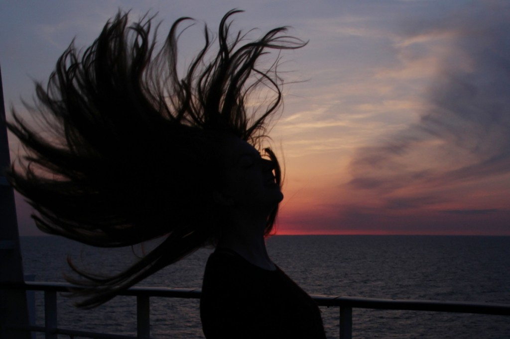 Sonnenuntergang Viking Line